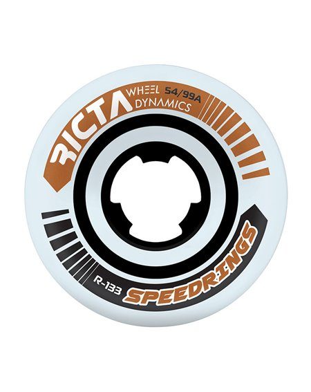 Ricta Roues Skateboard Speedrings Wide 54mm 99A 4 pc