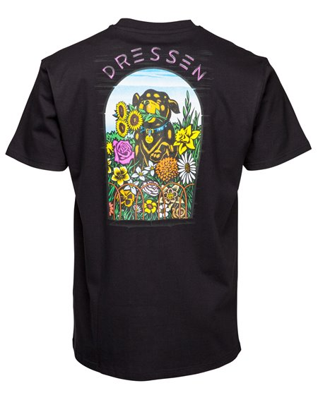 Santa Cruz Men's T-Shirt OGSC Dressen Pup Black