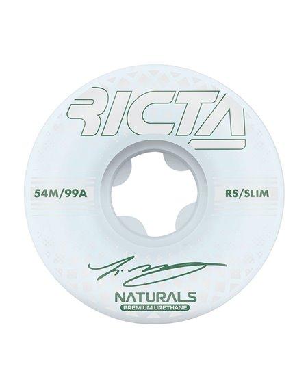 Ricta McCoy Reflective Naturals Slim 54mm 99A Skateboard Räder 4 er Pack