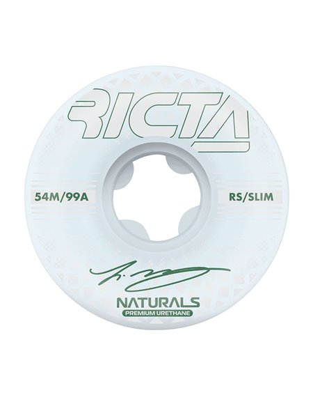 Ricta Rodas Skate McCoy Reflective Naturals Slim 54mm 99A 4 peças