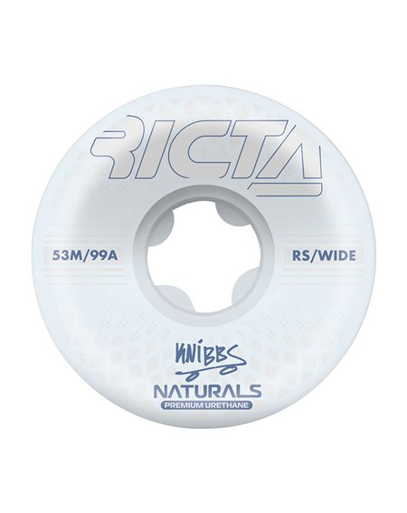 Ricta Roues Skateboard Knibbs Reflective Naturals Wide 53mm 99A 4 pc