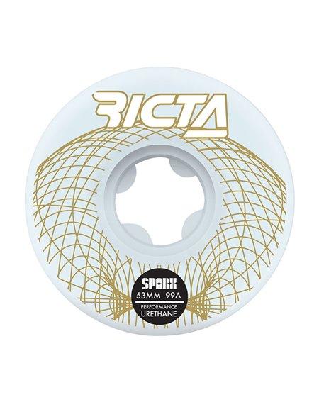 Ricta Wireframe Sparx 53mm 99A Skateboard Räder 4 er Pack