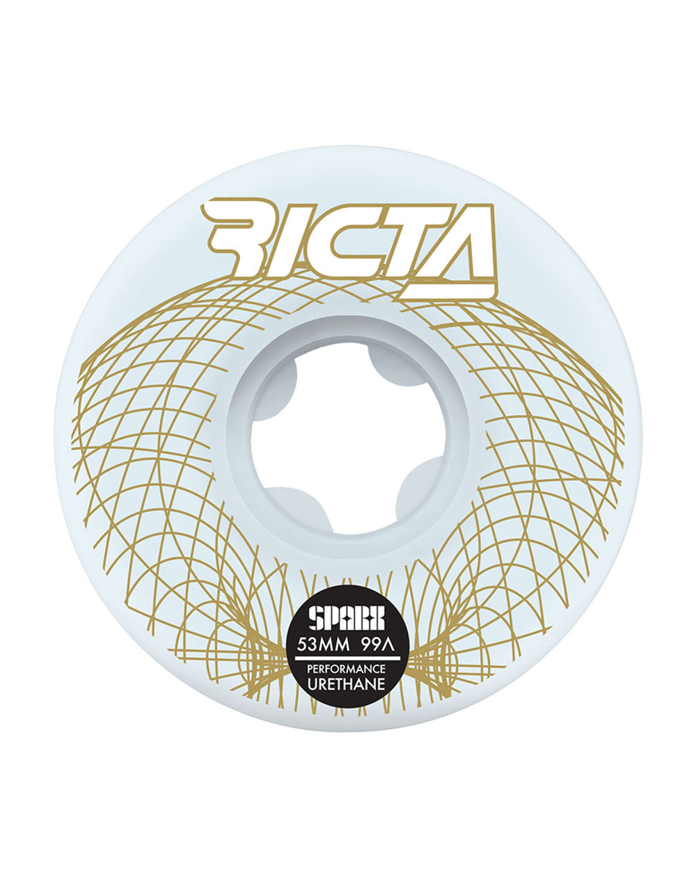 Ricta Wireframe Sparx 53mm 99A Skateboard Wheels pack of 4