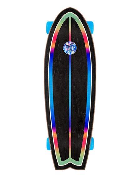 """Santa Cruz Iridescent Dot 27.7"""" Skateboard Cruiser"""