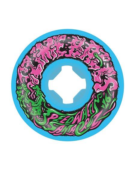 Slime Balls Rodas Skate Vomit Mini II 53mm 97A Blue 4 peças