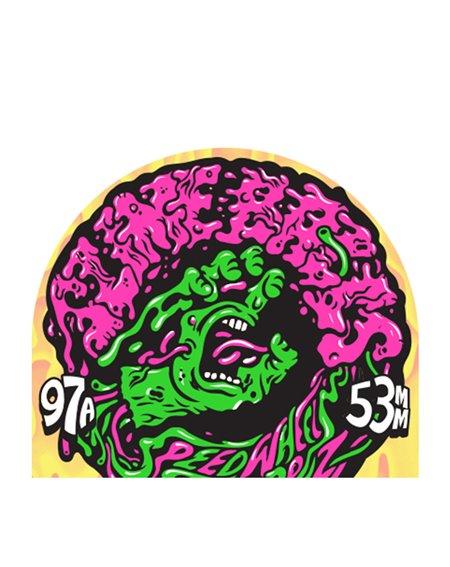 Slime Balls Ruote Skateboard Vomit Mini II 53mm 97A Blue 4 pz