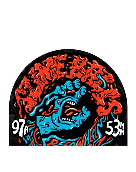 Slime Balls Ruote Skateboard Vomit Mini II 53mm 97A 4 pz