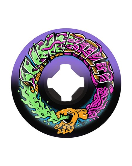 Slime Balls Greetings Speed Balls 53mm 99A Skateboard Wheels pack of 4