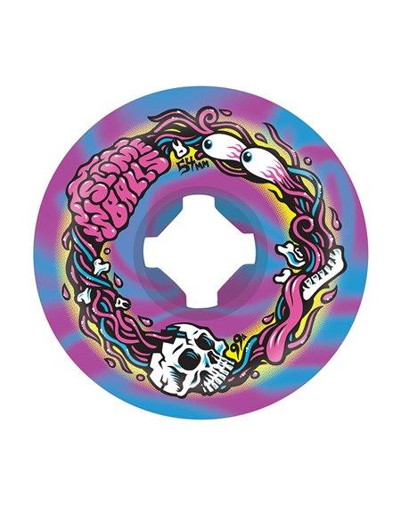 Slime Balls Roues Skateboard Brains Speed Balls 54mm 99A 4 pc