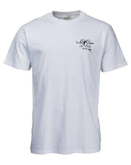 Santa Cruz OGSC Natas Evil Cat T-Shirt Uomo White