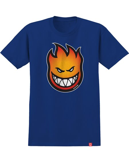 Spitfire Bighead Fade Fill T-Shirt Homme Royal