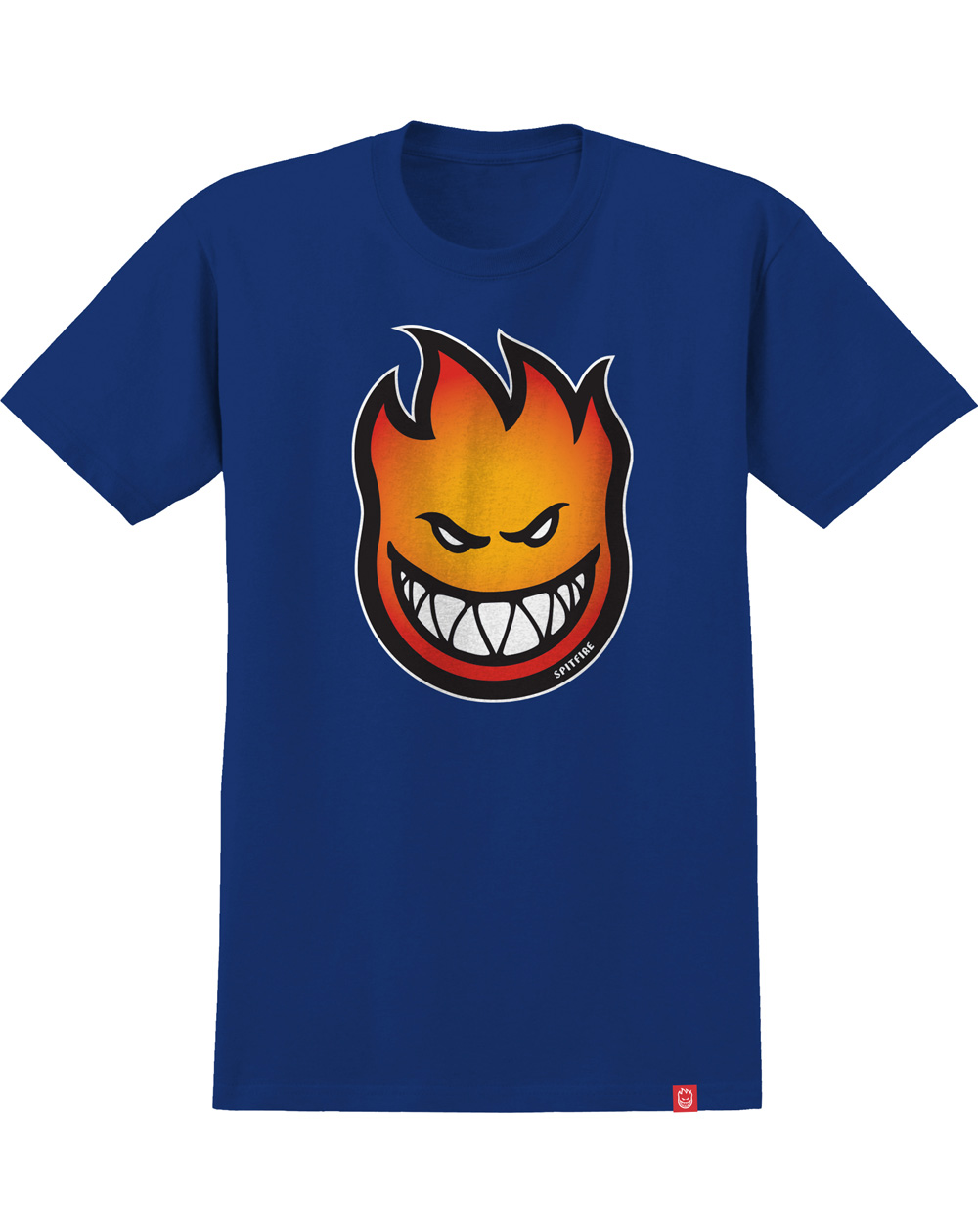 Spitfire Bighead Fade Fill T-Shirt Uomo Royal
