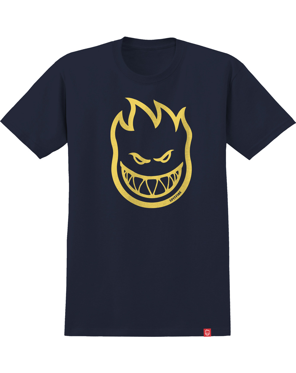 Spitfire Men's T-Shirt Bighead Navy