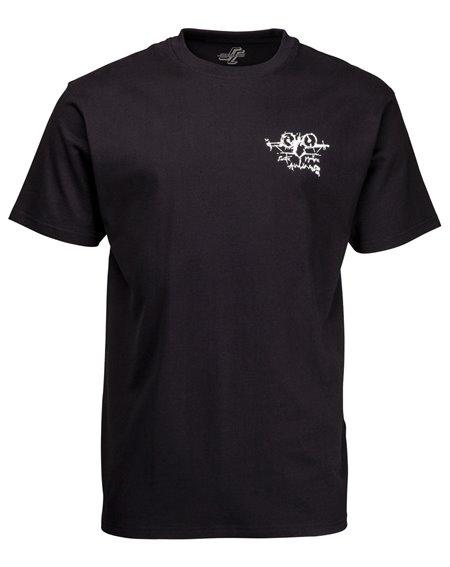 Santa Cruz Men's T-Shirt OGSC Natas Evil Cat Black