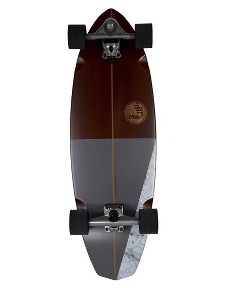 """Slide Diamond Koa 32"""" Surfskate"""