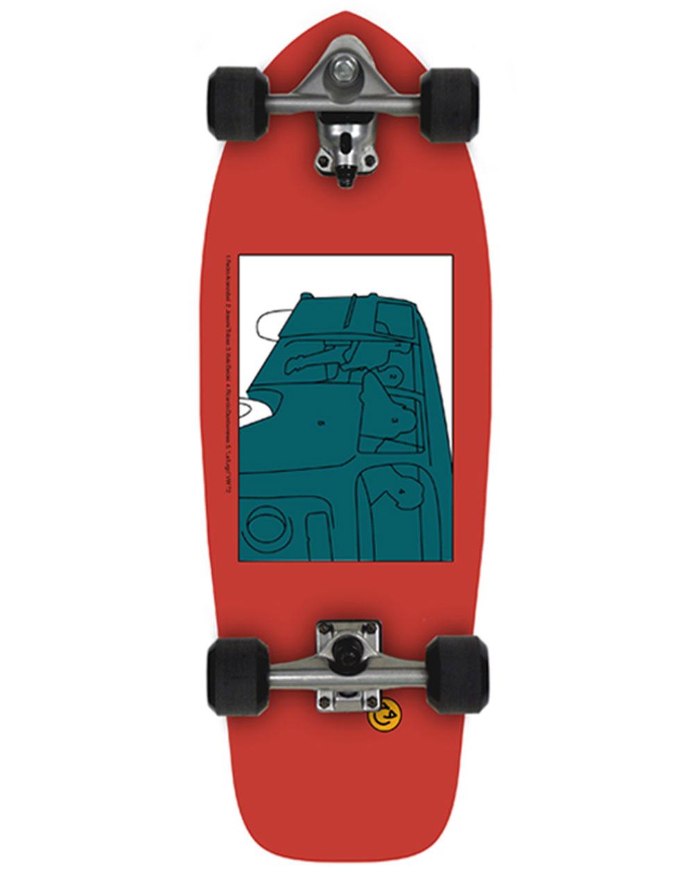 "Slide Surfskate Joyful SK Heritage 30"""