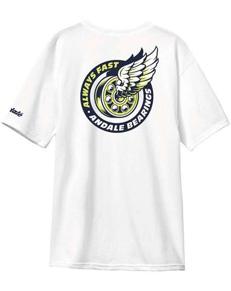 Andalé Excel Premium Camiseta para Hombre White
