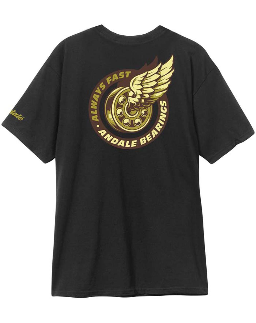 Andalé Excel Premium Camiseta para Homem Black
