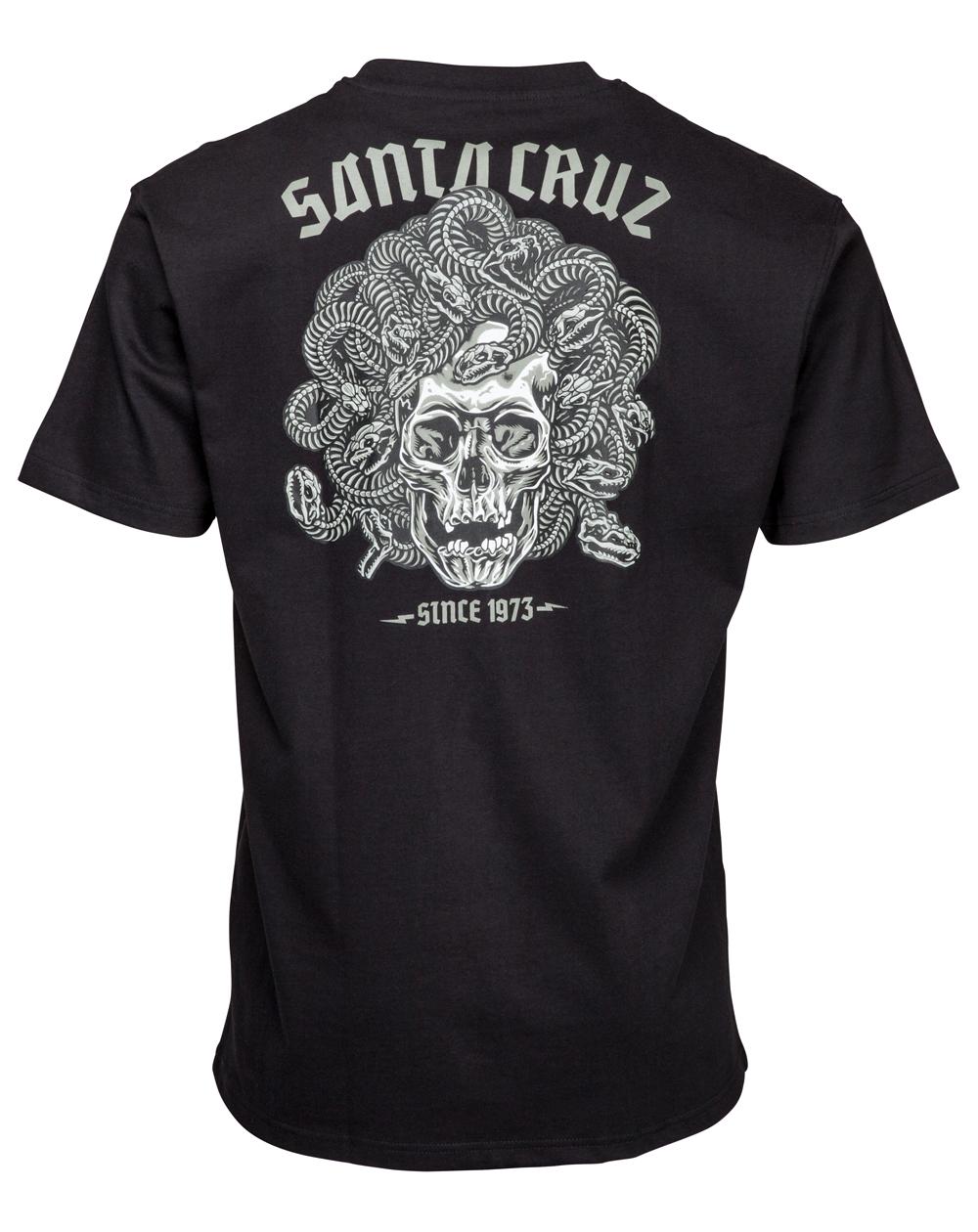 Santa Cruz Men's T-Shirt Medusa Black