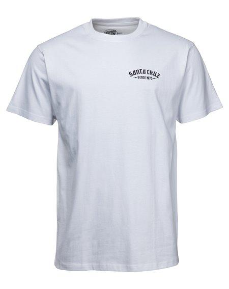 Santa Cruz Men's T-Shirt Medusa White