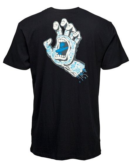 Santa Cruz Tattoo Hand Camiseta para Homem Black