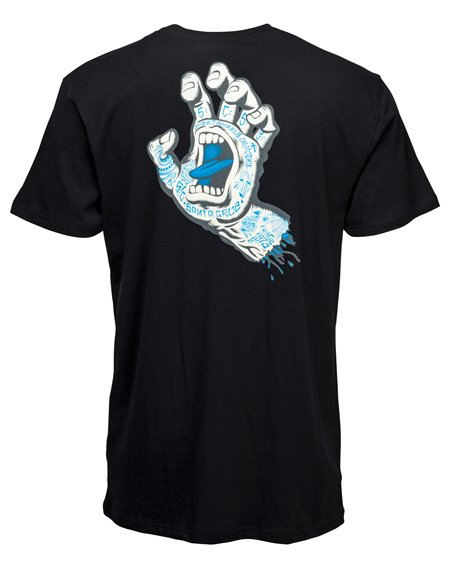 Santa Cruz Tattoo Hand T-Shirt Uomo Black