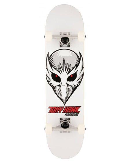 """Birdhouse Skateboard Birdman Head 7.5"""" White"""