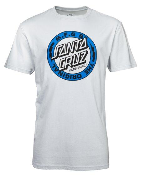 Santa Cruz Voltage Colour Camiseta para Homem Asphalt