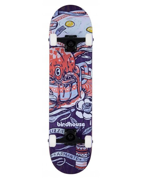 "Birdhouse Armanto Favorites 7.75"" Komplett-Skateboard Purple"