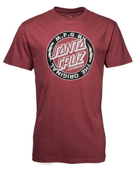 Santa Cruz Men's T-Shirt Voltage Colour Blood