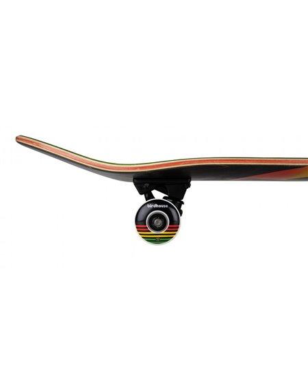 """Birdhouse Skateboard Rasta Sunset 7.75"""" Black"""