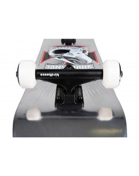 "Birdhouse Hawk Skull 2 7.75"" Complete Skateboard Chrome"