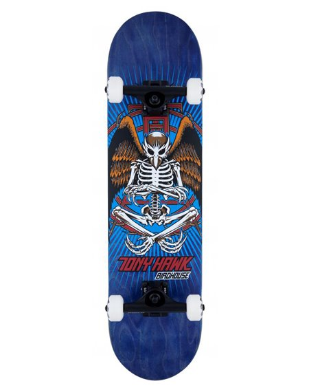 """Birdhouse Skateboard Completo Hawk Birdman 8"""" Blue"""