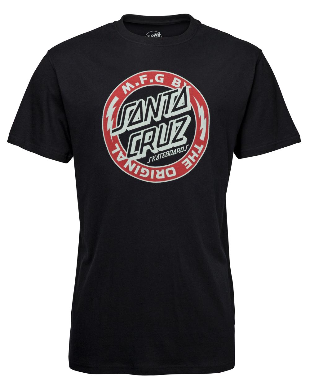 Santa Cruz Voltage Colour T-Shirt Homme Black