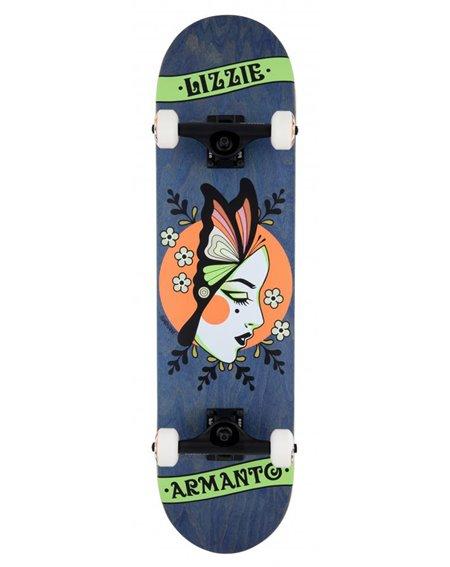 """Birdhouse Armanto Butterfly 8"""" Komplett-Skateboard Blue"""