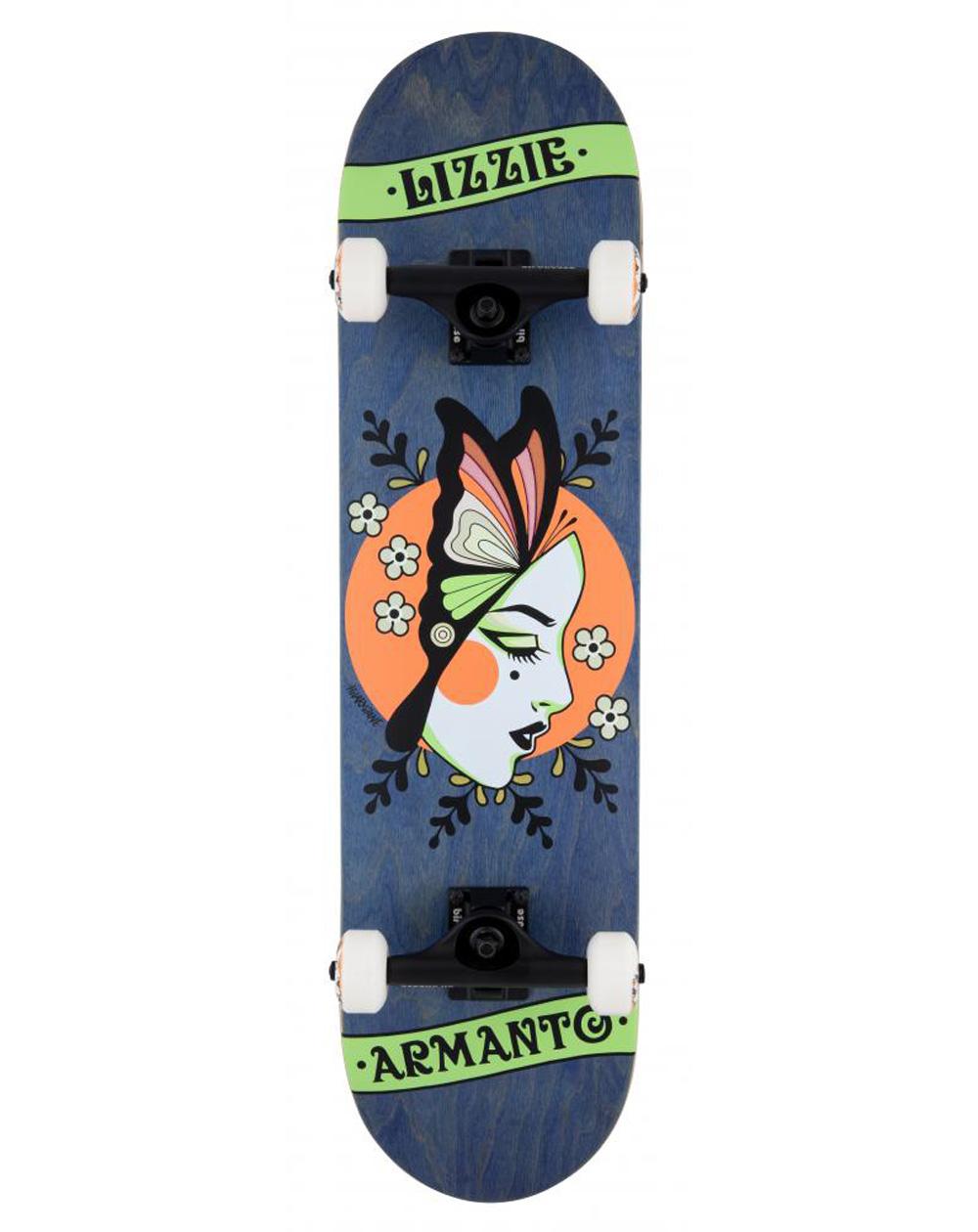 "Birdhouse Skateboard Armanto Butterfly 8"" Blue"