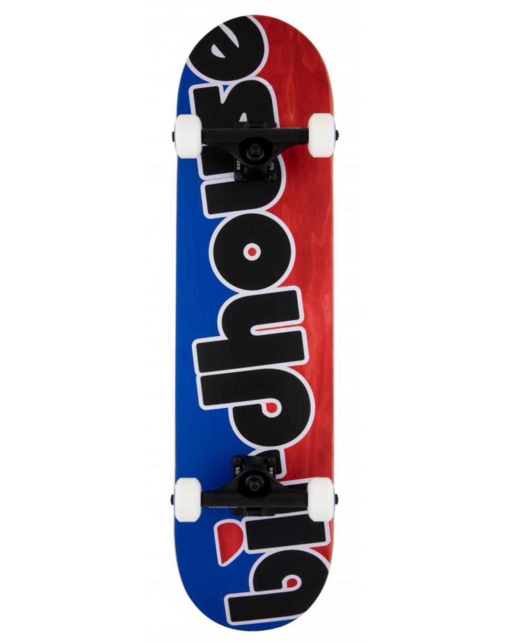 """Birdhouse Skate Montado Toy Logo 8"""" Red/Blue"""