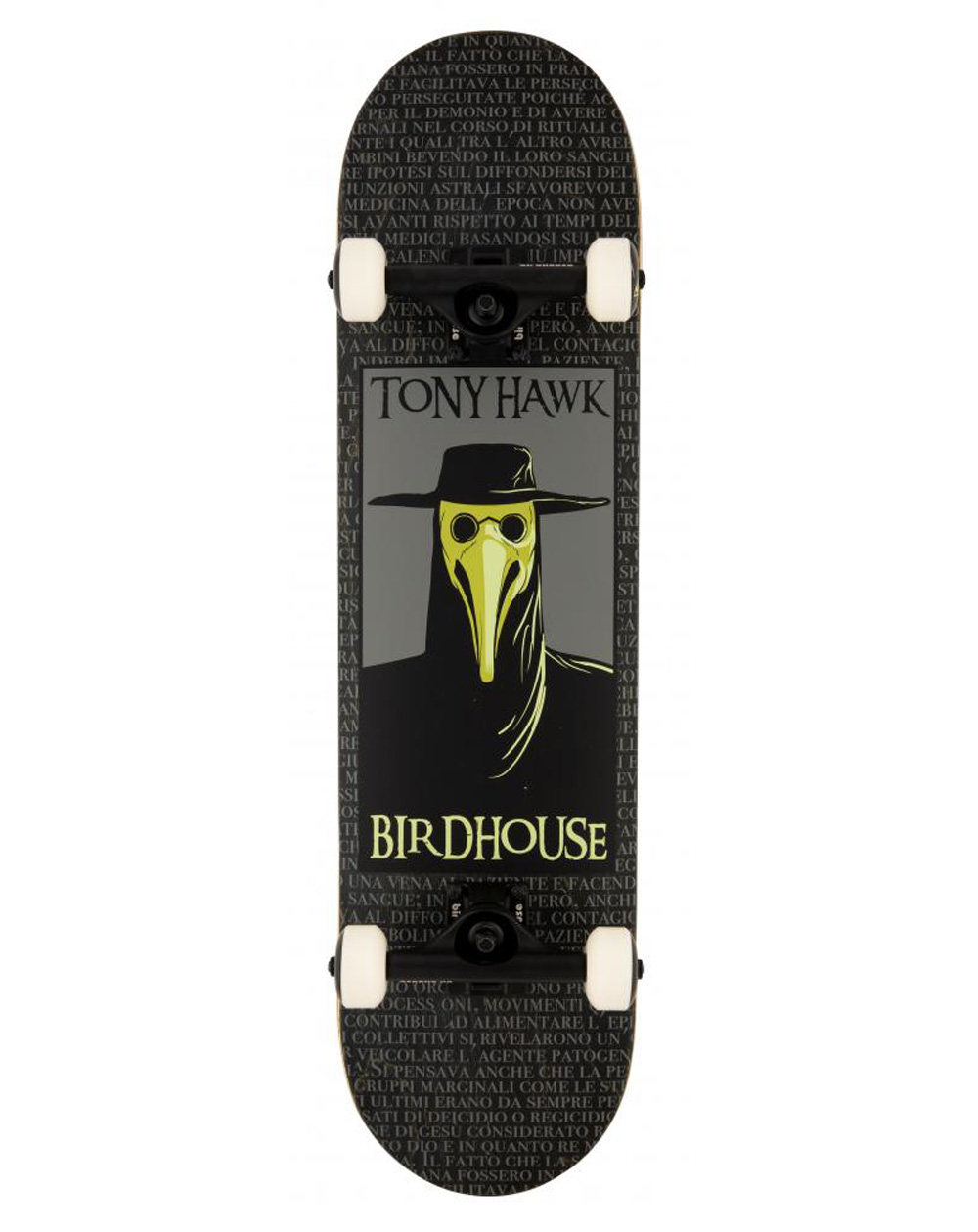 "Birdhouse Skate Montado Plague Doctor 8"" Black"