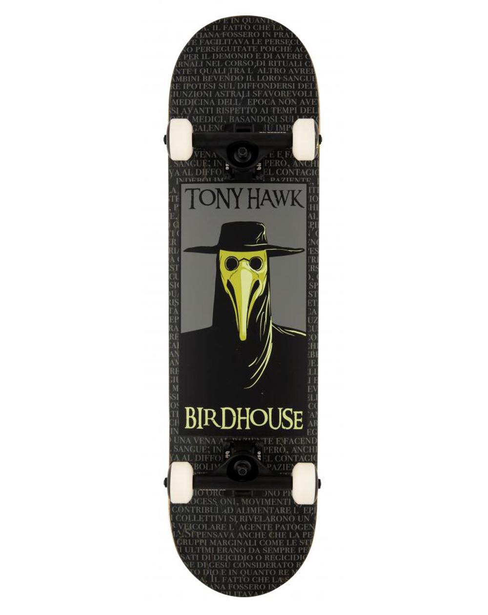 "Birdhouse Skateboard Plague Doctor 8"" Black"