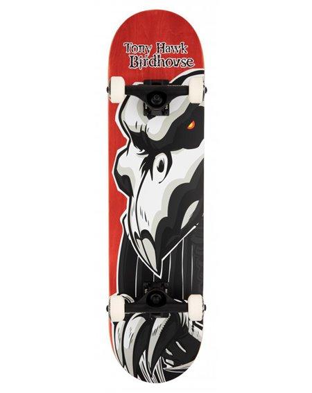 """Birdhouse Skateboard Completo Hawk Falcon 2 8"""" Red"""