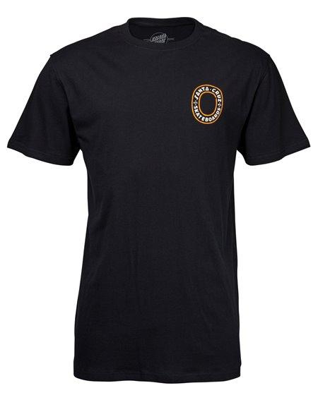 Santa Cruz Screamo T-Shirt Uomo Black
