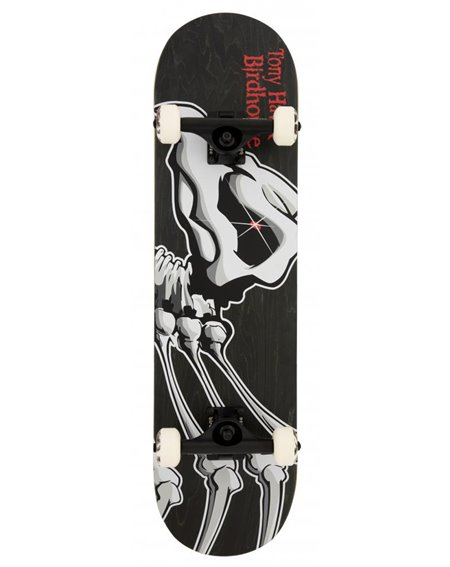 "Birdhouse Hawk Falcon 1 8.125"" Complete Skateboard Black"