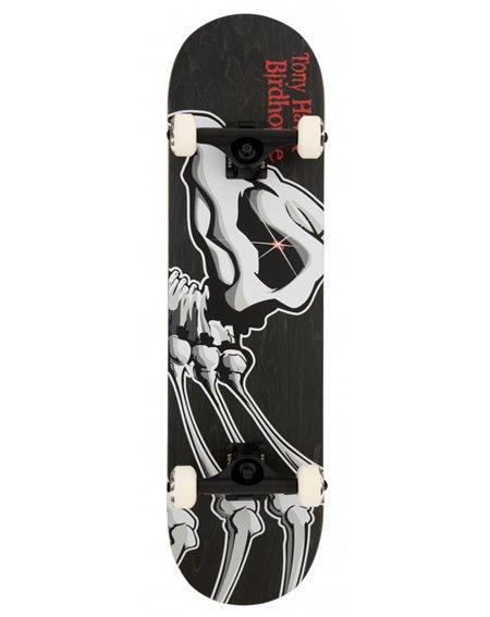 """Birdhouse Skateboard Hawk Falcon 1 8.125"""" Black"""