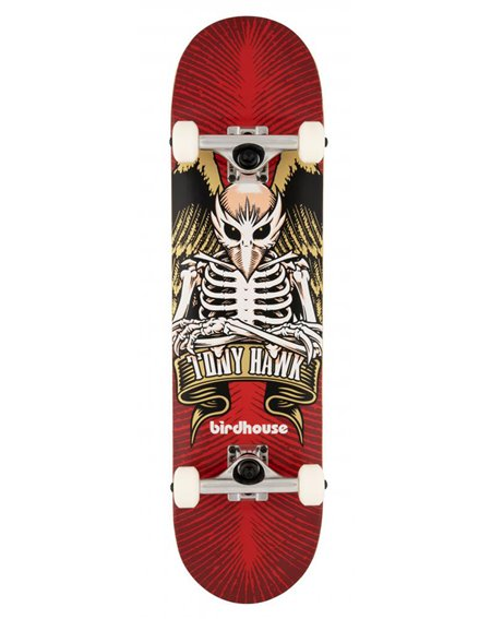 "Birdhouse Skateboard TH Icon 8"" Red"