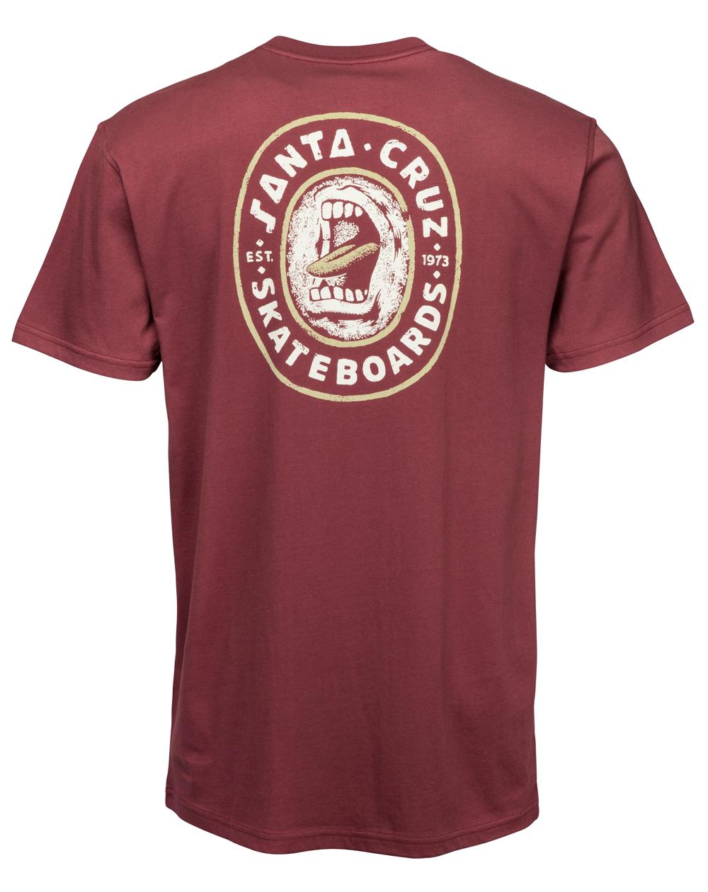 Santa Cruz Screamo Camiseta para Homem Blood