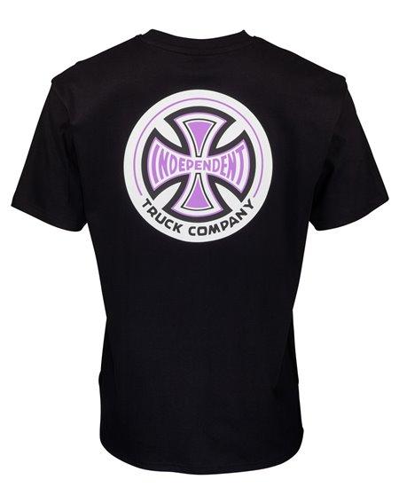 Independent Herren T-Shirt 78 Cross Black