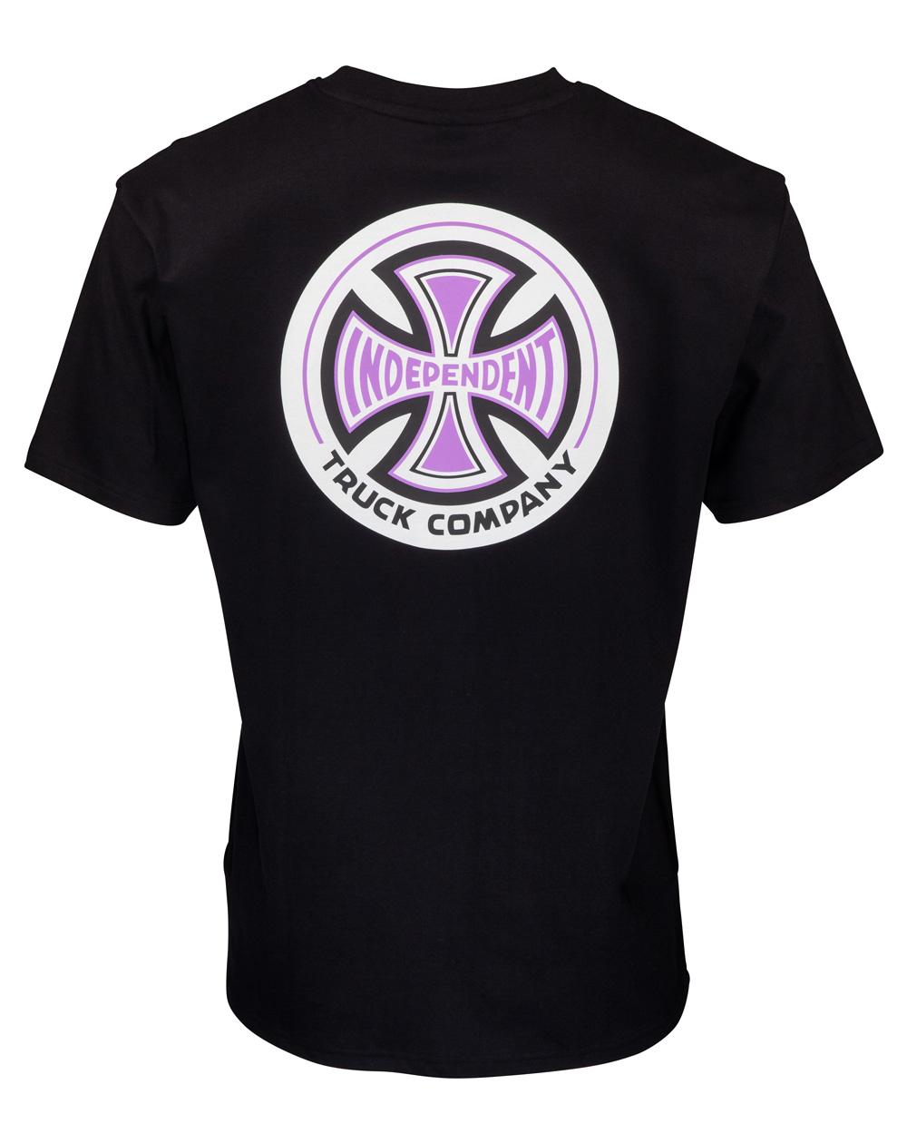 Independent 78 Cross Camiseta para Homem Black