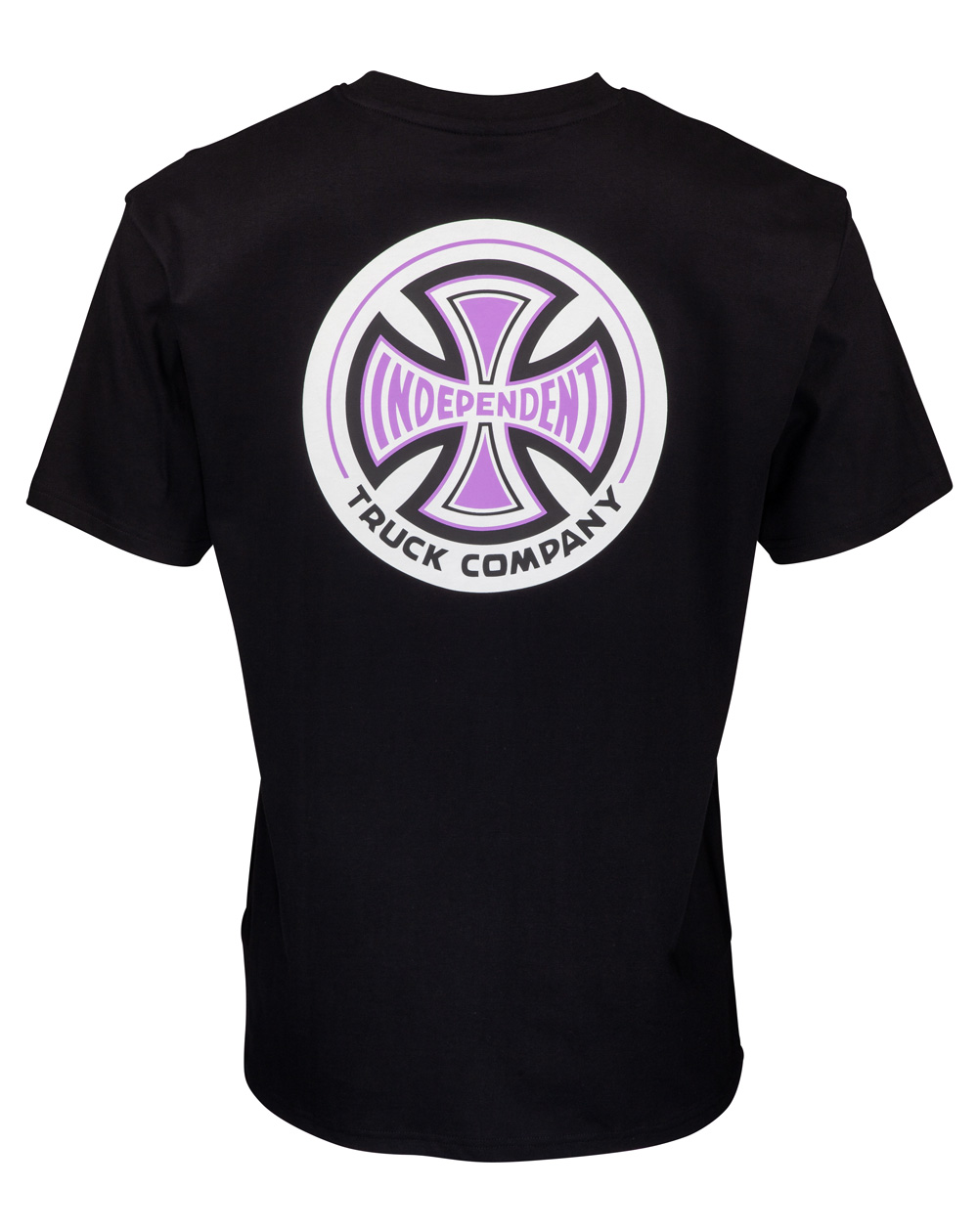 Independent Men's T-Shirt 78 Cross Black