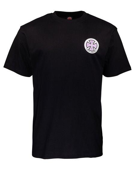 Independent 78 Cross T-Shirt Uomo Black