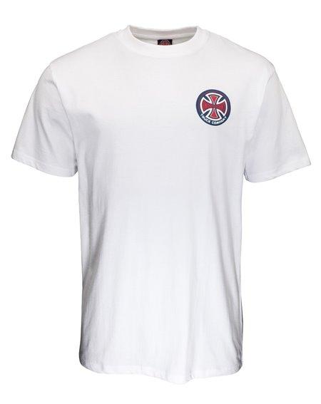 Independent 78 Cross T-Shirt Uomo White